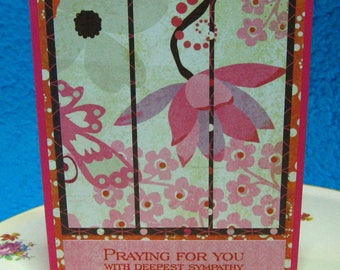 Praying for You with Deepest Sympathy (#167)