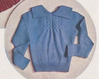 1937 Stitchcraft Spring Sweater