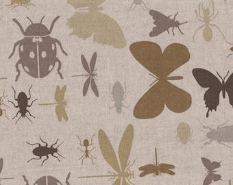 Cotton Twill - Bugs Print