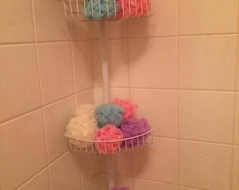 Simple Shower Scrunchie