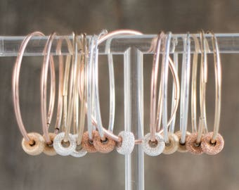 Mix and Match Sparkling Endless Hoop Earrings