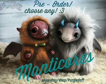 Any Dragon Cub Art Toy *Made-By-Order*