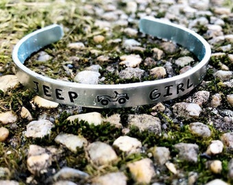 Jeep Girl Cuff Bracelet