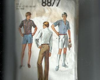 Simplicity Men's Pants in Three Lengths Pattern 8877