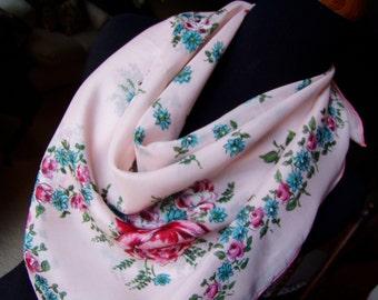 Vintage Scarf - Floral - Fashion