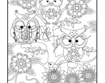 Molla the Owl and Friends