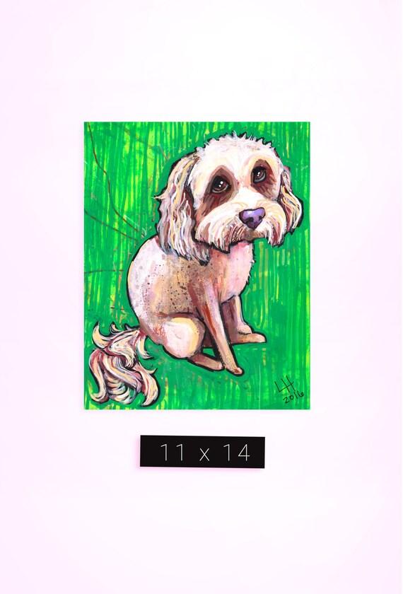 Pet Portrait / 11 x 14