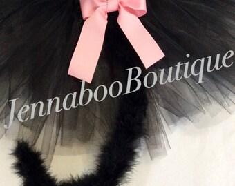 Cat tutu, black cat costume,adult cat costume, baby cat costume,  cat costume, black cat tutu, black tutu, girl cat costume, black cat