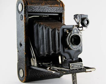 Antique Kodak Jr. No.1 Autographic Folding Film Camera
