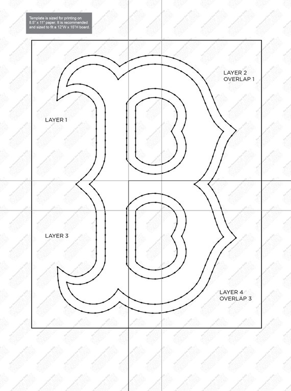 Boston red sox string art template from stringarttemplate on etsy boston red sox string art template from stringarttemplate on etsy studio maxwellsz