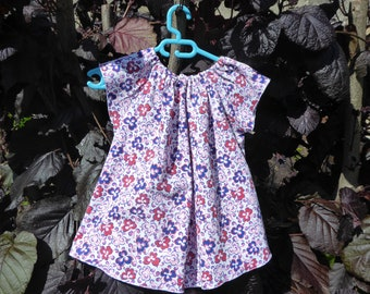 Printed blouse floral 2/3 years