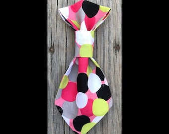 Pebbles - Over the Collar - Pet Necktie - Little Dog - Big Dog
