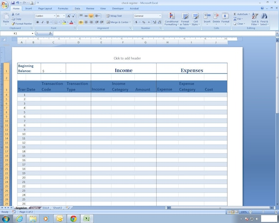 simple income and expenditure template