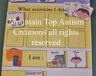 Autism School Digital Communication Board