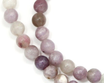 Lilac Stone Beads - 6mm Round