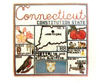 Patriotic Cross Stitch Kits America The Beautiful By Janlynn Counted X Stitch Choose your State Many States Available