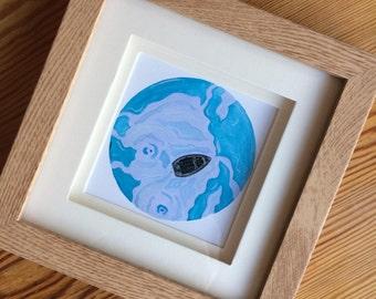 Awareness | Framed Art Print by Charlie Collins