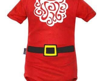 Combination of Santa Claus baby Bodysuit