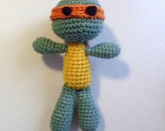 Hand Crocheted Turtle