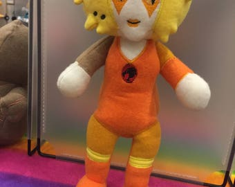 Thundercats Plush Plushie Cheetara Toy from Mythfits