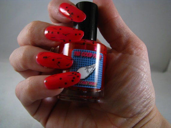 Too Deadpool for School nail polish from The Good Fight Collection by Comet Vomit