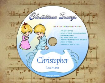 christian songs personalized childrens songs cd with your childs name religious gifts jesus christmas - Childrens Christian Christmas Songs