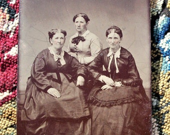 Tintype ~ Sisters After All These Years