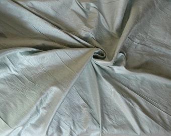 Silk Dupioni in Mint green -  Extra Wide half yard - DEX  283