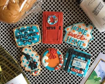 Custom Real Estate Sugar Cookies