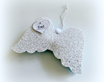 Wings of an Angel - Ornament Decoration - Customise - Bespoke - Personalise