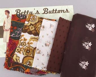 Vintage Fabric - remnants pack F