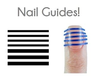 Line Vinyl Nail Guides