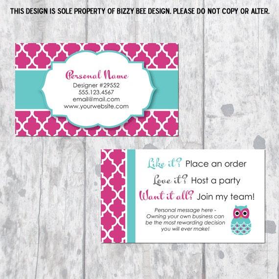 Direct sales business card with owl description business card colourmoves