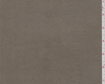 Taupe Microsuede, Fabric By The Yard