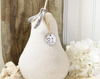 Fabric Pear-Farmhouse Pear