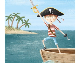 Ahoy! // A4 Print