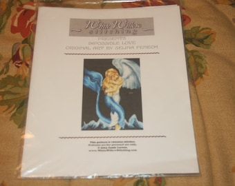White Willow Stitching  original cross stitch chart called Impossible Love
