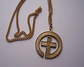 Cross Pendant and Chain