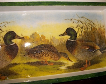 Small tray for duck lovers