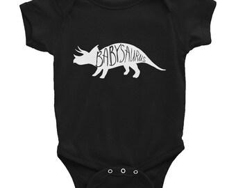 Babysaurus Cute Baby Dinosaur Shirt Onesie Infant One Piece