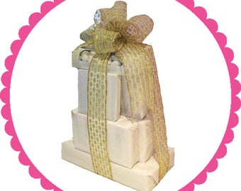 Gourmet Chocolate Gift Tower 6-Peanut Brittle And More!