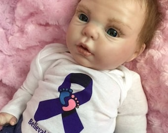 "Reborn Baby Girl ""Gretchen"" by Believable Babies for People with Dementia and Alzheimer's- Doll Therapy for Memory Care"