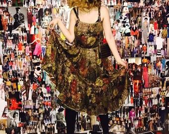 louis féraud dress in silk