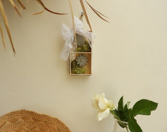 Spring wall decor - decor wall flower and leaf Decoration country chic-gift-mothers day