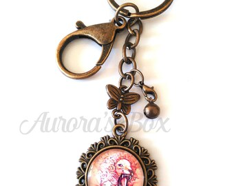 Zodiac Keychain - gift, key, accessory, bag, horoscope, leo, aquarius, gemini, libra, scorpio, capricorn, christmas, birthday, virgo