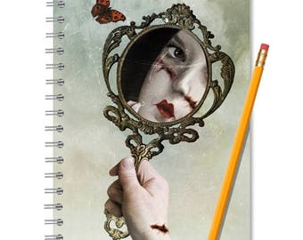 Reflection Notebook - Reflection Journal - LINED OR BLANK pages, You Choose