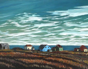 Houses by the Sea - PRINT