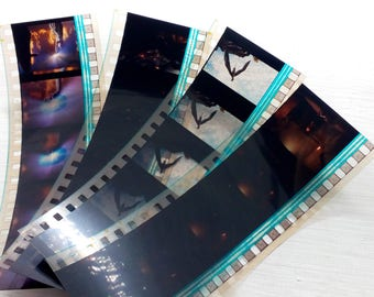 A selection of 4 film strips from the film Eragon
