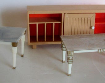 Vintage Dollhouse Furniture Lot Tomy and Ideal Petite Princess