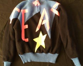Vintage Obermeyer Sport Ski Sweater Woman's Medium Retro